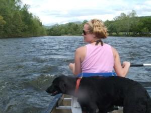 Lola canoe 2
